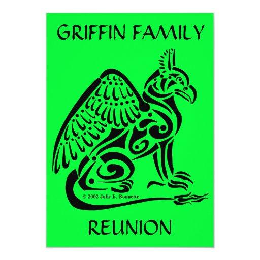 Gryphon Invitation 5x7