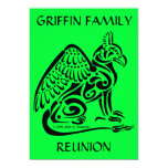 "Gryphon Invitation 5x7 5"" X 7"" Invitation Card"