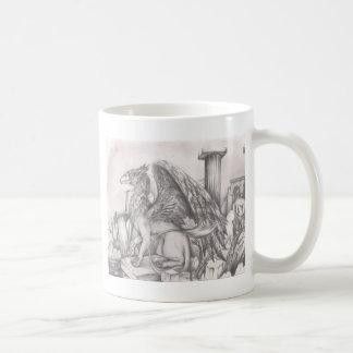 gryphon.jpg classic white coffee mug