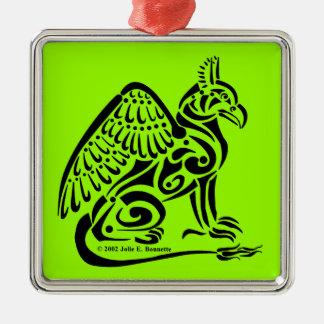 Gryphon Premium Square Ornament
