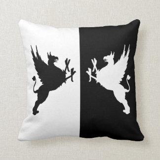 Gryphons Throw Pillow