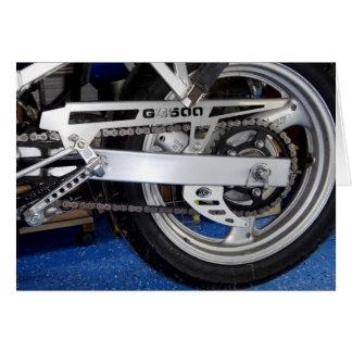 GS500E Motorcycle Card