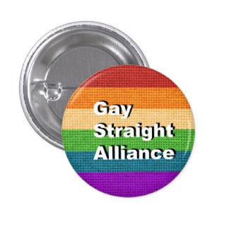 GSA - Gay Straight Alliance Ally Button Pin