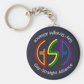 GSA Neon Dark Keychain