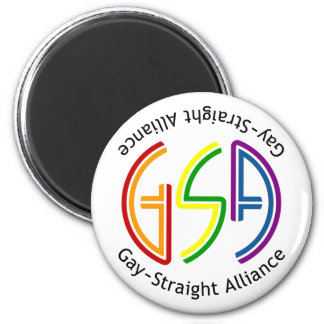 GSA Neon Round Light Magnet