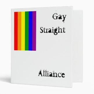 GSA pride flag binder