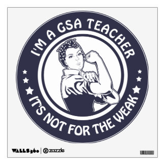 GSA Rosie Riveter Logo Circle Decal Glendale