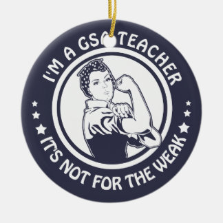 GSA Rosie Riveter Logo Circle Ornament