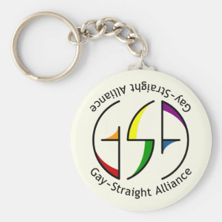GSA Spin Light Keychain