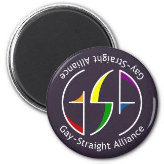 GSA Spin Round Dark Magnet