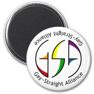 GSA Spin Round Light Magnet