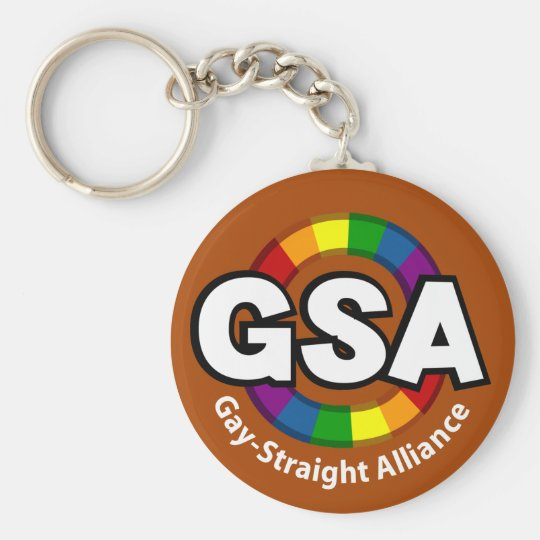 GSA ToonA Dark Keychain