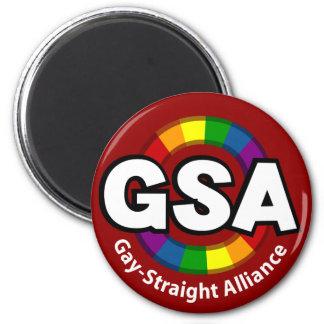 GSA ToonA Round Dark Magnet