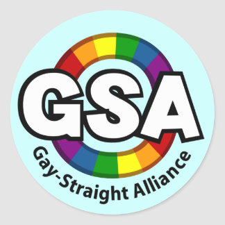 GSA ToonA Round Light Sticker