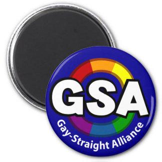 GSA ToonB Round Dark Magnet