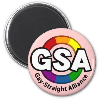 GSA ToonB Round Light Magnet