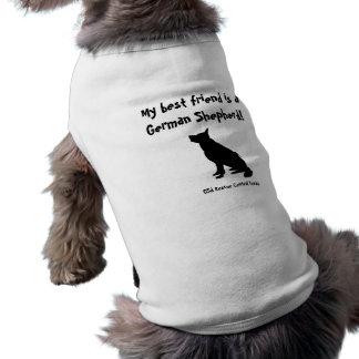 GSD best friend t-shirt for little dogs
