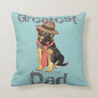 GSD Dad Throw Pillows