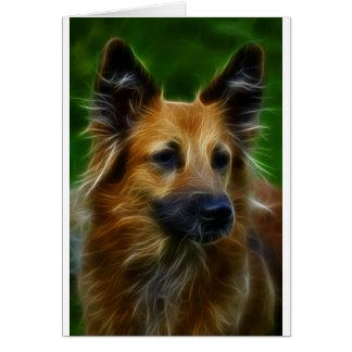 GSD German Shepherd pic Card