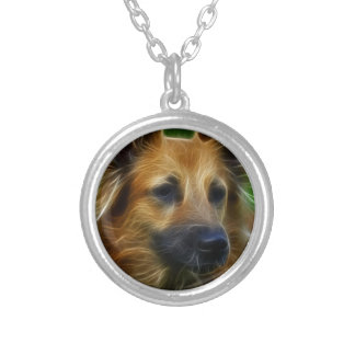 GSD German Shepherd pic Necklace
