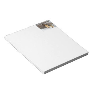 GSD in Winter Snow Notepad