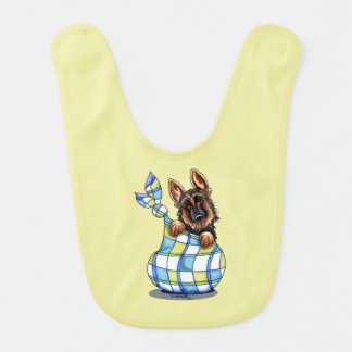GSD Sack Puppy Lime Juice Baby Bib