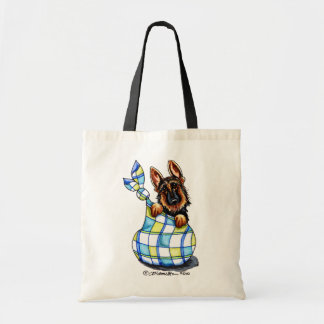 GSD Sack Puppy Tote Bag