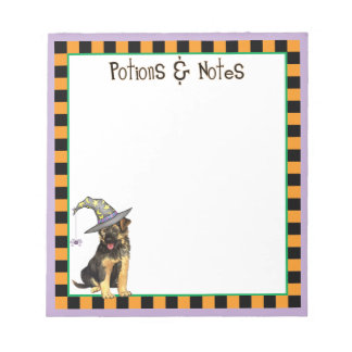 GSD Witch Notepad