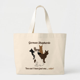 GSD - You Can't Have Just One Color! Tote
