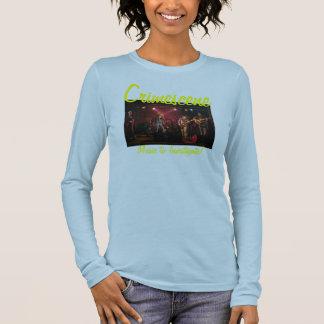 gsemau21tsl0459k, Crimescene, Music to Investig... Long Sleeve T-Shirt