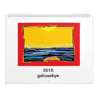 gshusebye - 2015 CALENDAR