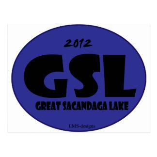 GSL D azul Postal