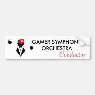 GSO Conductor Bumper Sticker