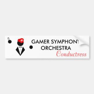 GSO Conductress Bumper Sticker