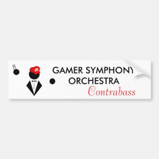 GSO Contrabass Bumper Sticker