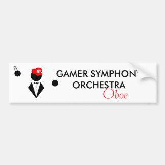 GSO Oboe Bumper Sticker