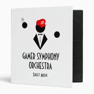 GSO Sheet Music Binder