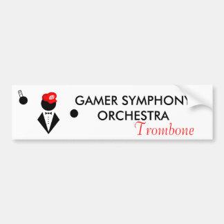 GSO Trombone Bumper Sticker