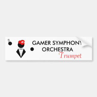 GSO Trumpeter Bumper Sticker