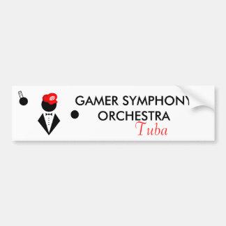 GSO Tubist Bumper Sticker