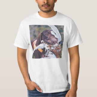 gsp German Shorthaired Pointer Fine art T shirt