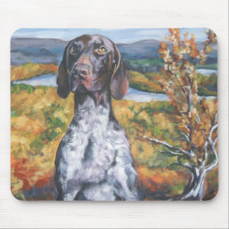 gsp German Shorthaired Pointer Mousepad