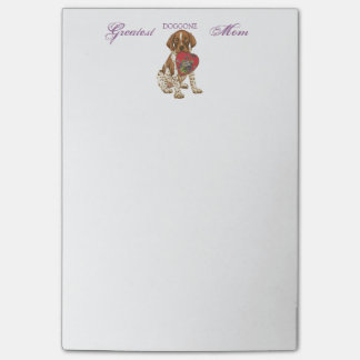 GSP Heart Mom Post-it® Notes