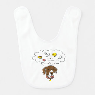 GSP Thoughts Baby Bib