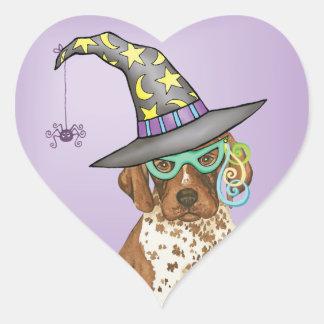 GSP Witch Heart Sticker