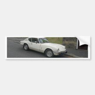 GT6 British Sportscar Bumper Sticker