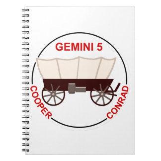 "GT 5:  ""Gordo"" Cooper and Pete Conrad Notebook"
