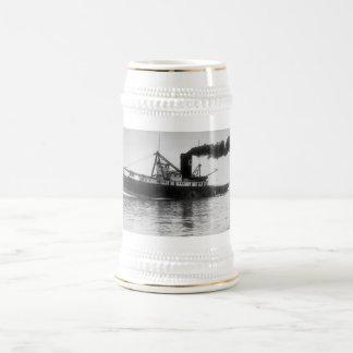 """GT Tug """"Favorite"""" Beer Stein"""