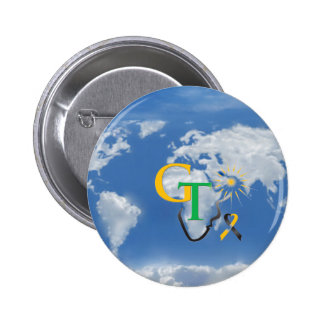 GT WORLD PRODUCTS PINBACK BUTTON