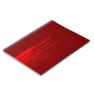 GTD Workflow notepad Libreta